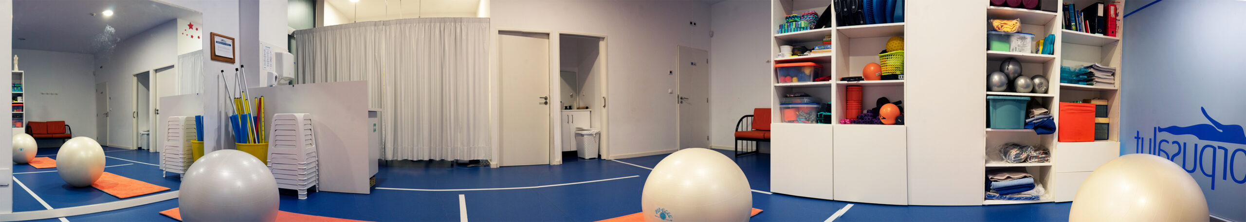 Sala de exercício terapêutico